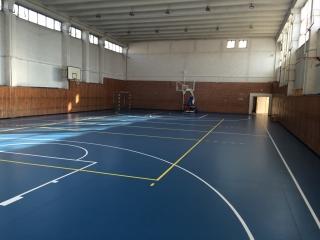 Sali de sport - covor PVC