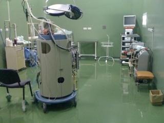 Spitalul Judetean Targu Mures - sali de operatie - pardoseala epoxidica si antistatica
